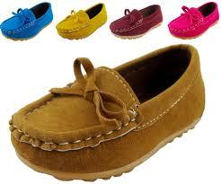 Buy Dadawen Boys Girls Classic Slip On Loafers Oxford Flat
