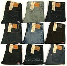 Details About Levis 569 Jeans New Mens Loose Fit Straight Leg Levis Relaxed