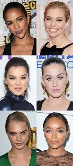 celebrity exles of the oval face shape