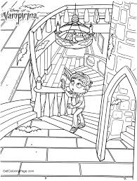 Free Activities Of Vampirina Coloring Pages Get Coloring Page