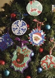 Festive Foam Ornaments