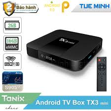 Android TIVI BOX TX3 2G/16G/BLUETOOTH - Android TV Box, Smart Box Nhãn hàng  No Brand
