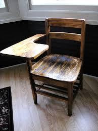 antique school desk chair. Wonderful Antique AntiqueVintage 1940u0027s Oak School DeskChair For Antique Desk Chair O