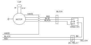 ac fan motor wiring diagram wiring diagram hvac fan motor wiring image about diagram