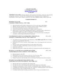 Commercial Property Manager Resume Samples Bongdaao Com