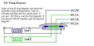 megasquirt support forum bull wire stepper iacv wiring 4 wire stepper iacv wiring confusion