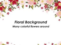Flower Powerpoint Free Powerpoint Floral Theme In 2019 Powerpoint
