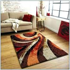 gray and orange area rug brown latest for amazing burnt rugs grey