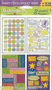 Details About Stickers Decal 10 Sheet Classroom Achievement Chart Reward Student Teacher New