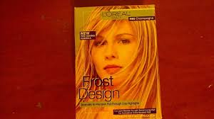 L Oreal Paris Frost And Design Highlights Champagne Loreal Frost Design Highlights H85 Champagne For Light