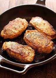 easy pan seared pork chops what s in