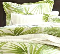 palm leaf duvet cover pottery barn green palm frond leaf full queen duvet cover brand palm frond bedding palm leaves doona cover
