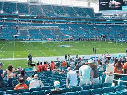 Hard Rock Stadium Seating Chart Hurricanes Sun Life Stadium Seating Chart Miami Hurricanes Gamedayr