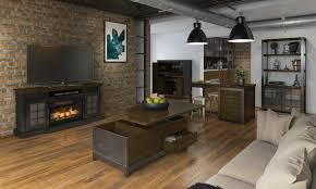 multifunctional furniture for small spaces. Loft With Fireplace Multifunctional Furniture For Small Spaces R