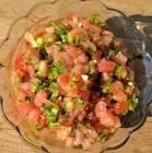 acili ezme  turkish style tomato dip condiment