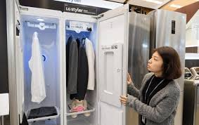 lg dry cleaner. Brilliant Cleaner LGu0027s Styler Is A Futuristic Closet That Actually Cleans Your Clothes   HardwareZonecomsg Intended Lg Dry Cleaner T