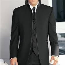 <b>2019</b> 3-Pieces Stand Collar Suits   Suits, Suit <b>fashion</b>, <b>Men</b> dress