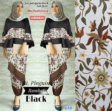 Menjelaskan model baju batik unik terkini, baju batik kerja, baju batik kantor, baju batik keluarga, baju batik seragam, busana batik modern, baju batik unik, batik polos. Model Baju Muslim Batik Terpopuler Fashion Hijab
