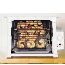 Ronco Rotisserie Cooking Time Chart Ronco 3000 Series Rotisserie White White Amazon Co Uk