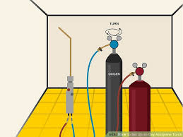 Oxy Acetylene Settings Chart How To Set Up An Oxy Acetylene Torch With Pictures Wikihow