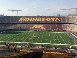 Tcf Bank Stadium Seating Chart Views Minnesota Football Tcf Bank Stadium Seating Chart