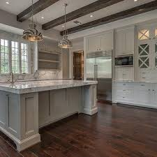 kitchen with x mullion cabinets