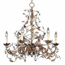 maxim lighting international elegante crystal six light chandelier