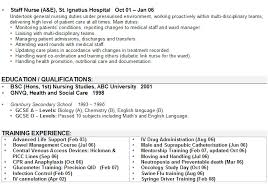 nurse personal statement personal statement example for cv