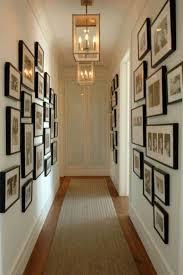 Hallway Wall Ideas White Wooden Finish Flooring Idea Hallway Wall Art Ideas Lovely