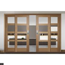 Buy Sliding French Doors with Shaker Clear Glazed Doors | Emerald Doors