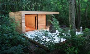 Small Picture Modern Eco Friendly Garden House Studio in London garden