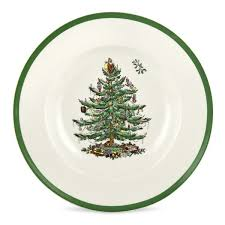 Spode Christmas Tree Holiday Dinnerware  Silver SuperstoreSpode Christmas Tree Cereal Bowls