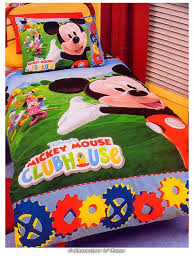 mickey mouse clubhouse toddler bedding sets comforter set for bed home design ideas