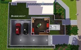 house plan with basement parking underground for home car design india  garage modern decor qarmazi price