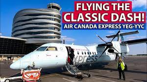 Dash 8 300 Seating Chart Flying The Classic Dash Air Canada Express Dash 8 300 Edmonton To Calgary
