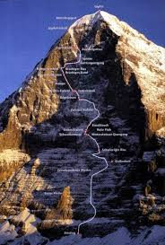 Climbandmore.com the best site for climbing news, interviews with famous climbers. The Deadly North Face Of The Eiger Mountaineering Climbing Climbing Mountaineering