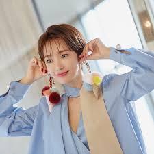 韓国女性スターに学ぶショートヘアに良く似合うメイク 韓国情報