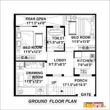 30x30 home plans house with loft x west facing south map g384 garage