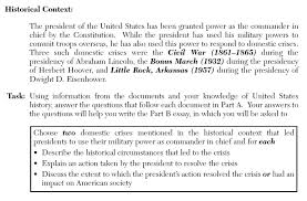 united states history amp government thematic essays and dbqs