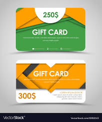 Material Design Template Download Design Of Gift Cards In Style Of Material Design