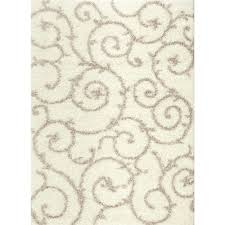 this review is from soft cozy contemporary scroll cream white 7 ft 10 in x 10 ft indoor area rug