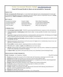 Accounting Resumes Templates Examples Of Accounting Resumes