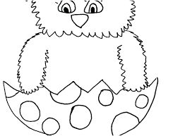 Coloring Pages Chickens F1067 Chicken Outline Free Printable