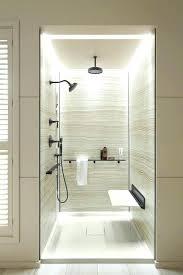 niche lighting lights for shower inch brass head with led light heads niche lighting kit lighted