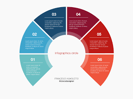 Infographic Circle Sketch Template Freebie Download Sketch