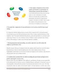 Job Self Evaluation Tips Employee Performance Appraisal Answers ...