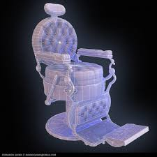 ArtStation - Barber Shop Chair, Fernando Quinn