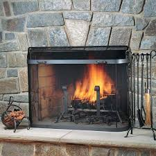 fireplace spark screen pilgrim fireplace sized spark guard fireplace spark screen rod kit