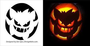 Halloween Carving Patterns Enchanting Free Printable Halloween Pumpkin Carving Patterns Wallsviewsco