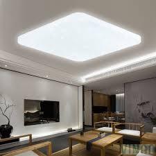 60w Led Deckenlampe Kaltweiß Eckig Starlight Deckenbeleuchtung Wand